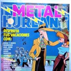 Cómics: METAL HURLANT N.º 28– NUEVA FRONTERA / EUROCOMIC 1981 – MUY BUENO. Lote 58862411