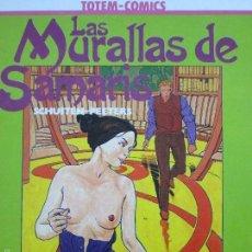 Cómics: LAS MURALLAS DE SAMARIS--SCHUITEN. Lote 60998335