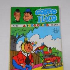 Cómics: EL GORDO Y EL FLACO Nº 16. STAN LAUREL Y OLIVER HARDY. NUEVA FRONTERA. TDKC19. Lote 64007107