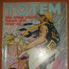 Cómics: TOTEM Nº 64. ENKI BILAL. GUIDO CREPAX. MAGMUS. MILO MANARA. HUGO PRATT. EDITORIAL NUEVA FRONTERA.. Lote 65941630