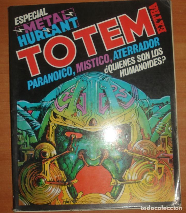 TOTEM ESPECIAL METAL HURLANT. TOMO EXTRA Nº 11. EDITORIAL NUEVA FRONTERA. (Tebeos y Comics - Nueva Frontera)