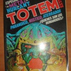 Cómics: TOTEM ESPECIAL METAL HURLANT. TOMO EXTRA Nº 11. EDITORIAL NUEVA FRONTERA.. Lote 207047366