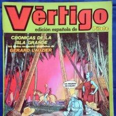 Cómics: VÉRTIGO Nº 4, EDICIÓN ESPAÑOLA DE PILOTE. NUEVA FRONTERA, 1982.. Lote 66811882
