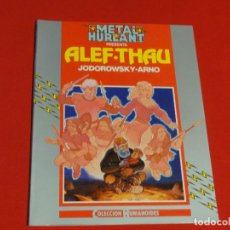 Cómics: METAL HURLANT-COLECCIÓN HUMANOIDES Nº 16-ALEF THAU-JODOROWSKY-ARNO-C-16B. Lote 73935235