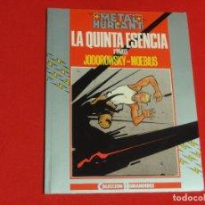 Comics : METAL HURLANT-COLECCIÓN HUMANOIDES Nº 28-LA QUINTA ESENCIA 1ª PARTE-JODOROWSKY-MOEBIUS.C-16B. Lote 74098003