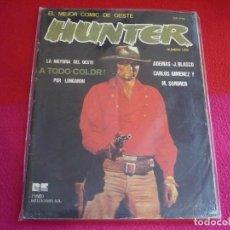 Cómics: HUNTER EL MEJOR COMIC DEL OESTE NUMERO UNO ( LONGARON J. BLASCO CARLOS GIMENEZ ) RIEGO EDICIONES. Lote 76066163
