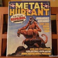 Cómics: METAL HURLANT Nº 1 EN ESPAÑOL.. Lote 84931060
