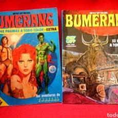 Cómics: SUPER BUMERANG-NUMEROS 14 Y 18. Lote 87232266