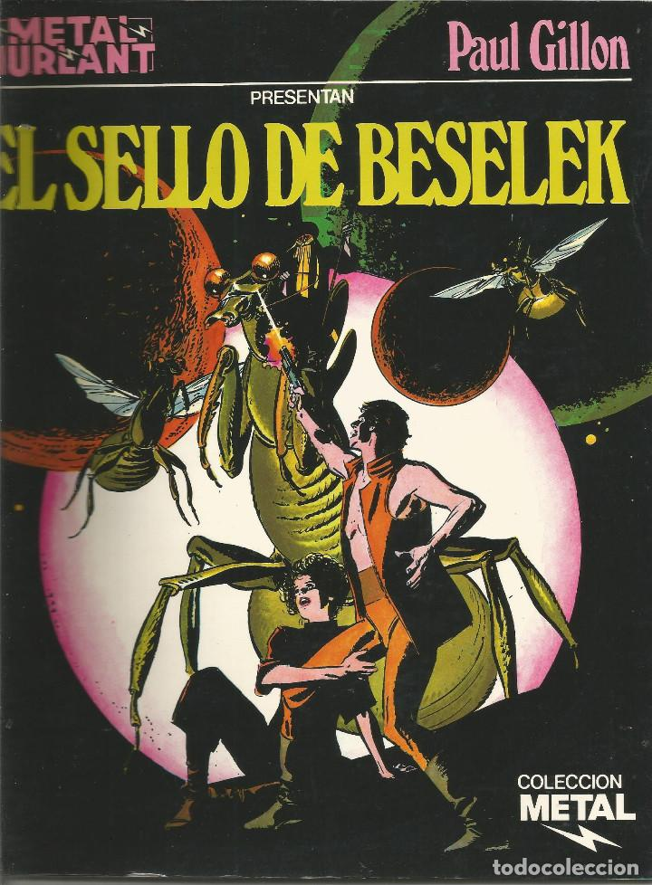 METAL HURLANT EL SELLO DE BESELEK NUEVA FRONTERA Nº 3 (Tebeos y Comics - Nueva Frontera)