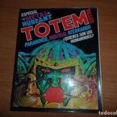 Cómics: TOTEM EXTRA Nº 11 ESPECIAL METAL HURLANT . Lote 89503940