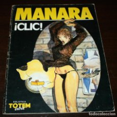 Cómics: ¡CLIC! - MILO MANARA - NUEVA FRONTERA - 1984. Lote 93295885