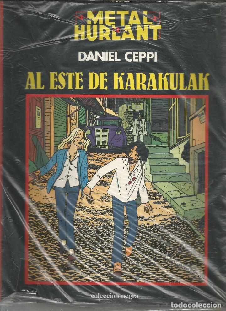 METAL HURLANT COLECCIÓN NEGRA AL ESTE DE KARAKULAK Nº 4 (Tebeos y Comics - Nueva Frontera)