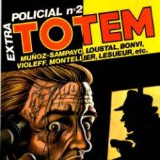 Cómics: TOTEM EXTRA POLICIAL Nº 2. NUEVA FRONTERA. AÑOS 80. Lote 95800823