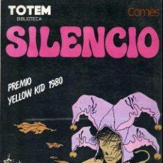 Cómics: SILENCIO - H. COMÈS - BIBLIOTECA TOTEM , PREMIO YELLOW KID 1980. Lote 99432035