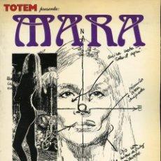 Cómics: TOTEM. MARA. ENRIC SIÓ. NUEVA FRONTERA. 1980. BIBLIOTECA TOTEM, VOLUMEN 6.. Lote 99432967