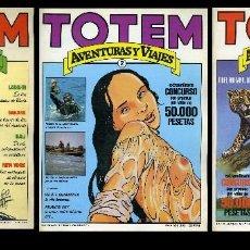 Cómics: TOTEM AVENTURAS Y VIAJES ( NUEVA FRONTERA ) ORIGINAL 1983. LOS TRES PRIMEROS NÚMEROS. Lote 99434867