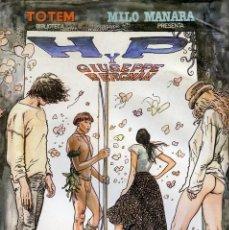 Cómics: HP Y GIUSEPPE BERGMAN. MILO MANARA. BIBLIOTECA TOTEM Nº 8. EDITA NUEVA FRONTERA 1980. Lote 99438427