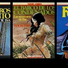 Cómics: COLECCIÓN VÉRTIGO. TOTEM. LOS TRES PRIMEROS TOMOS. NUEVA FRONTERA 1981. Lote 99439011