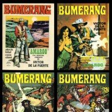 Cómics: LOS CUATRO PRIMEROS NÚMEROS DEL COMIC BUMERANG. NUEVA FRONTERA 1978. Lote 99550171