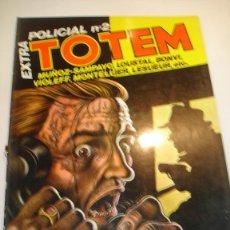 Cómics: TOTEM EXTRA NUM 18. - POLICIAL Nº 2 - ED. NUEVA FRONTERA- 1977. Lote 99702492