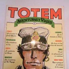 Cómics: TOTEM AVENTURAS Y VIAJES NUM 1 - ED. NUEVA FRONTERA- 1977. Lote 99702552