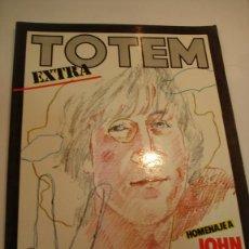 Cómics: TOTEM EXTRA NUM 15 - HOMENAJE A JOHN LENNON - ED. NUEVA FRONTERA- 1977. Lote 99702464