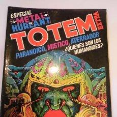 Cómics: TOTEM EXTRA NUM 11 - ESPECIAL METAL HURLANT - ED. NUEVA FRONTERA- 1977. Lote 99702548