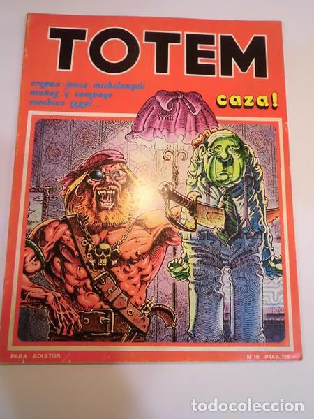 TOTEM - NUM 18 - ED. NUEVA FRONTERA- 1977 (Tebeos y Comics - Nueva Frontera)