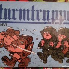 Cómics: 3 UNIDADES TIRAS COMICAS STURMTRUPPEN Nº 1-3-4 NUEVO 1ª EDICIÓN 1980 PRECINTADO BONVI. Lote 101820879