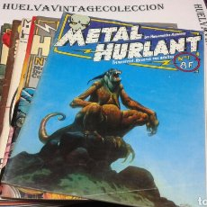 Cómics: METAL HURLANT ( LES HUMANOIDES ASSOCIES ). DEL 1 AL 10. Lote 103440850
