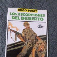 Cómics: TOTEM-COMICS , HUGO PRATT - LOS ESCORPIONES DEL DESIERTO - 1990 - 48 PGS. . Lote 104726063
