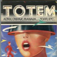 Cómics: TOTEM Nº 44 - CREPAX - MANARA -ALTAN - TOPPI - ... BUEN ESTADO. Lote 104735859