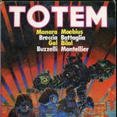 Cómics: TOTEM Nº 42 - MANARA, MOEBIUS, BRECCIA, BILAL, MONTELLIER - ... BUEN ESTADO. Lote 104737067