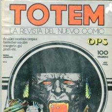 Cómics: TOTEM Nº 6 -DRUILLET, MOEBIUS, CREPAX, BRETECHER,PRATT, ...... Lote 105109875