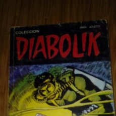 Cómics: DIABOLIK Nº 17. Lote 110216070