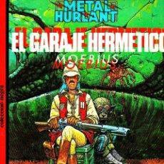 Cómics: COLECCIÓN NEGRA DE METAL HURLANT. 18 ALBUMES. 1980 EUROCOMIC. Lote 108636955
