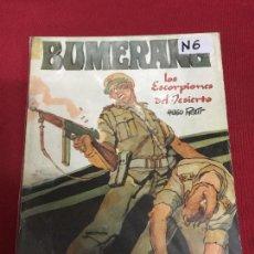 Cómics: BUMERANG NUMERO 6 NORMAL ESTADO REF.34B. Lote 109228987