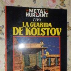 Cómics: COMIC - METAL HURLANT - LA GUARIDA DE KOLSTOV - CEPPI - SERIE NEGRA Nº 6 - . Lote 110730827