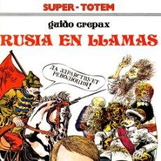 Cómics: RUSIA EN LLAMAS. GUIDO CREPAX. SUPER TOTEM Nº 6. AÑO 1980. Lote 147006045