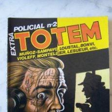 Cómics: TOTEM EXTRA POLICIAL Nº 2. . Lote 115813035