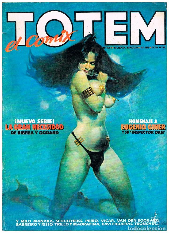 TOTEM Nº 29 (Tebeos y Comics - Nueva Frontera)