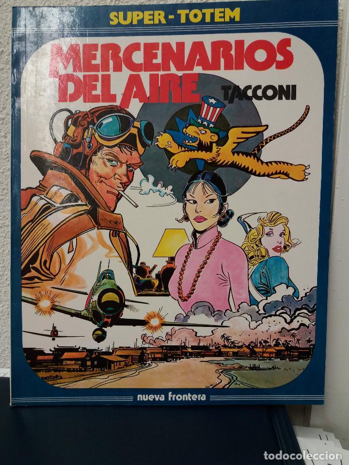MERCENARIOS DEL AIRE (SUPER-TOTEM) EDICIÓN DE 1982 (Tebeos y Comics - Nueva Frontera)