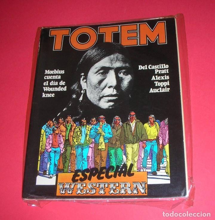 REVISTA TOTEM EXTRA Nº 10 ESPECIAL WESTERN NUEVA FRONTERA 106 PÁGS. 1978 (Tebeos y Comics - Nueva Frontera)