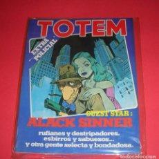 Cómics: REVISTA TOTEM EXTRA Nº 14 EXTRA POLICIAL NUEVA FRONTERA 106 PÁG. 1978 BUEN ESTADO . Lote 118521335