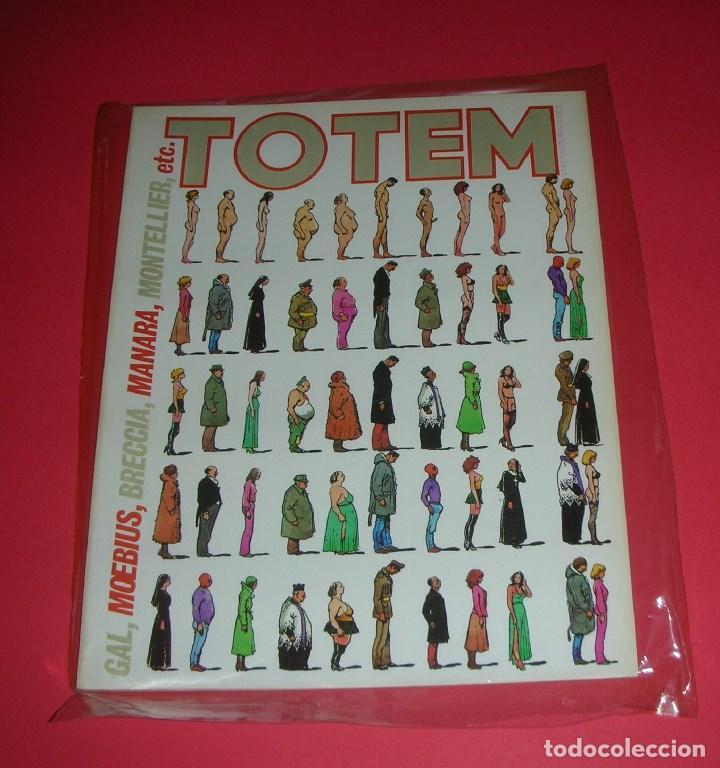 REVISTA TOTEM Nº 40 NUEVA FRONTERA BUEN ESTADO . X-1981 (Tebeos y Comics - Nueva Frontera)