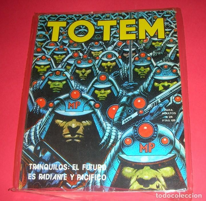 REVISTA TOTEM Nº 24 NUEVA FRONTERA BUEN ESTADO . 90 PÁGINAS . I-1980 (Tebeos y Comics - Nueva Frontera)
