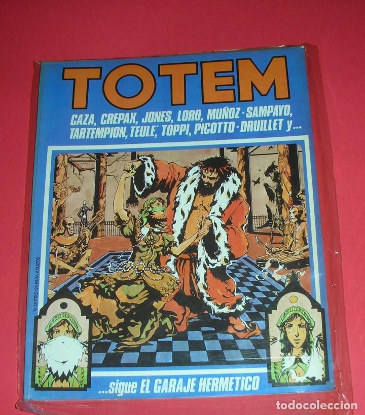 REVISTA TOTEM Nº 33 NUEVA FRONTERA BUEN ESTADO . II-1981 (Tebeos y Comics - Nueva Frontera)
