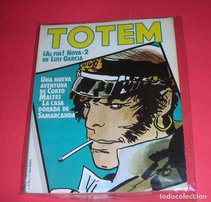 REVISTA TOTEM Nº 34 NUEVA FRONTERA BUEN ESTADO . III-1981 (Tebeos y Comics - Nueva Frontera)