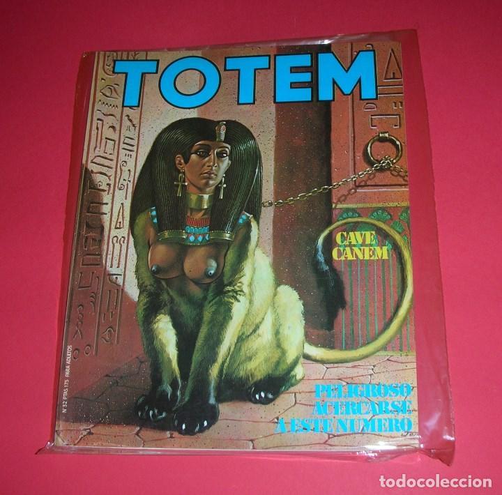 REVISTA TOTEM Nº 32 NUEVA FRONTERA BUEN ESTADO . I-1981 (Tebeos y Comics - Nueva Frontera)