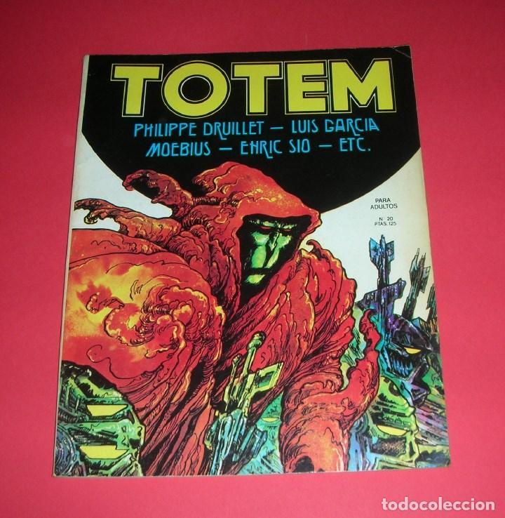 REVISTA TOTEM Nº 20 NUEVA FRONTERA BUEN ESTADO . VII-1979 (Tebeos y Comics - Nueva Frontera)